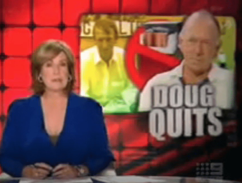 Australian Cricketer Quits Smoking After 50 Years