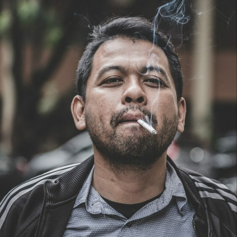 War Between Smoking Cravings and Self-defeating Talk